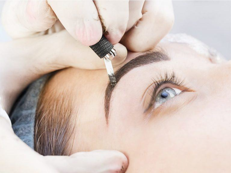 Model image for VTCT Level 4 - Certificate in Enhancing Eyebrows with Microblading Techniques beauty training course