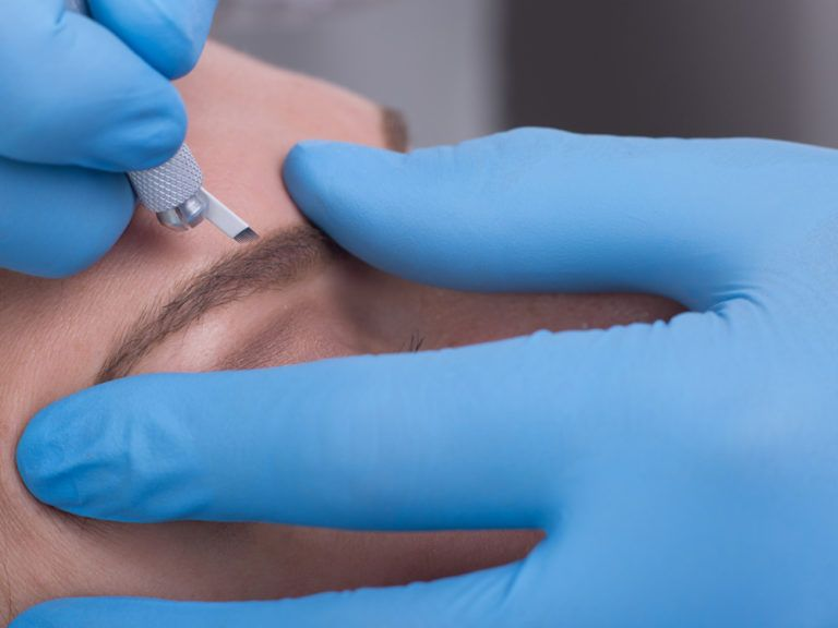 model image for Conversion to VTCT Level 4 - Certificate in Enhancing Eyebrows with Microblading Techniques beauty training course