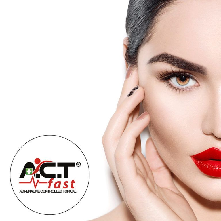 Model image for A.C.T.fast Adrenaline Controlled Topical beauty training course