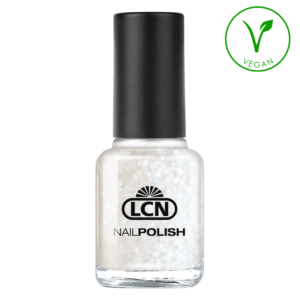 43179-571 LCN 8ml Nail Polish White Flakes, 8ml