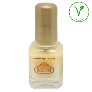 43179-FC4 LCN 8ml Nail Polish White Pastel Shimmer, 8ml