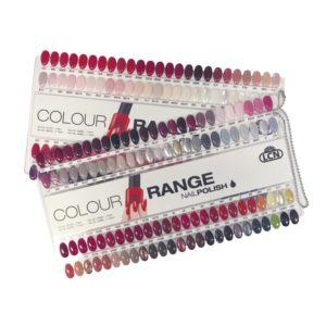 90751 Nail and Gel Polish Colour Chart