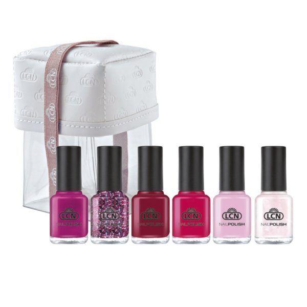 LCN 8ml Nail Polish What Do You Pink? Polish Set