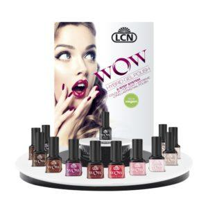 WOW Hybrid Gel Polish Display for #FallOhMe and What Do You Pink