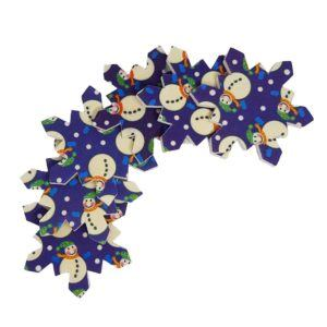 32317 Snowflake Files, 6pcs