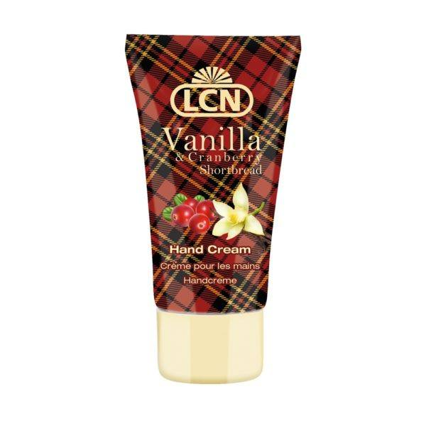 64300 Vanilla & Cranberry Shortbread Hand Cream, 50ml