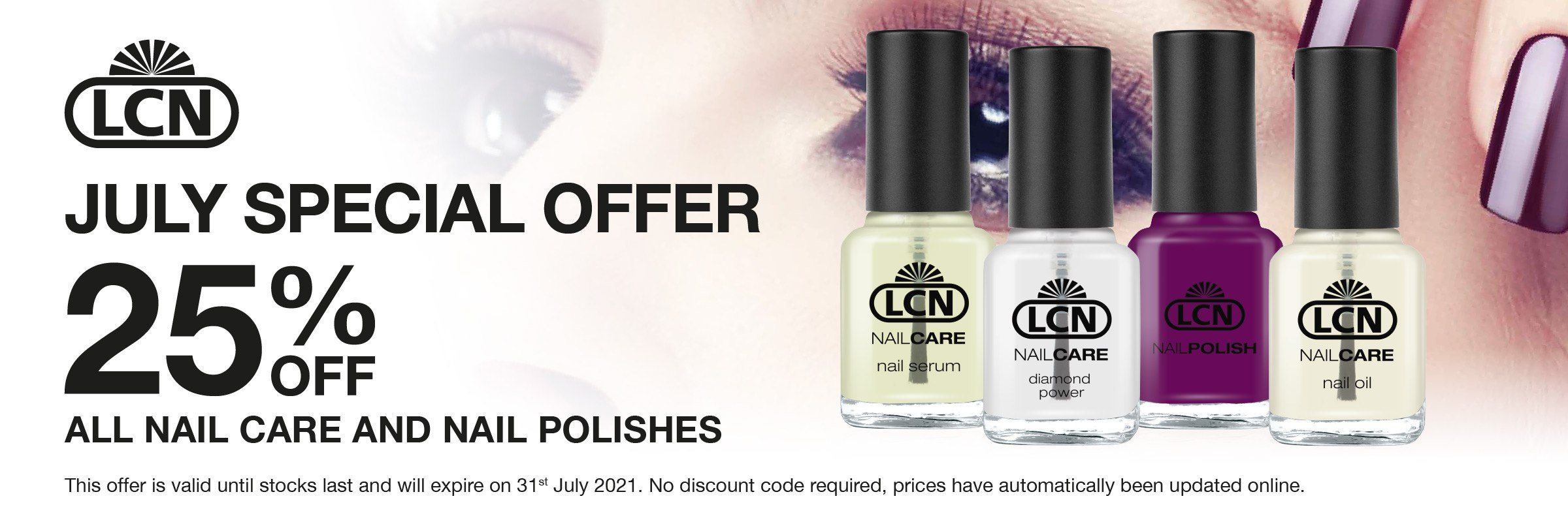 July Special Offers LCN